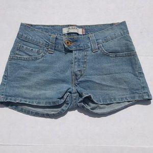Levi's 504 Slouch Blue Jean Shorts
